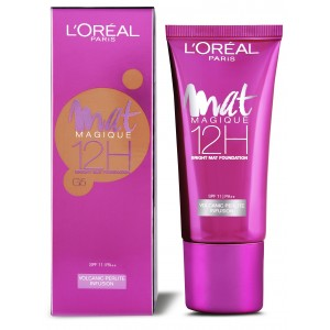 Buy L'Oreal Paris Mat Magique 12H Bright Mat Foundation - G5 - Nykaa