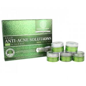 Buy Khadi Natural Anti Acne Mini Facial Kit - Nykaa