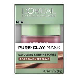 Buy L'Oreal Paris Pure Clay Mask Exfoliate & Refine Pores - Nykaa