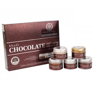 Buy Khadi Natural Chocolate Mini Facial Kit - Nykaa
