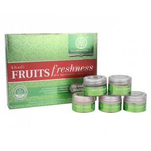 Buy Khadi Natural Fruit Mini Facial Kit - Nykaa
