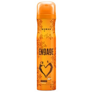 Buy Engage Woman Deo Spray for Women - Abandon - Nykaa