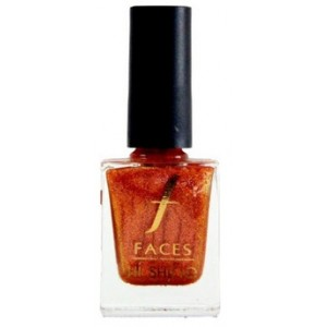 Buy Faces Hi Shine Nail Enamel -  Absolutely Yours Orange - Nykaa