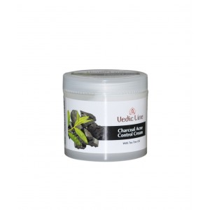 Buy Vedic Line Charcoal Acne Control Cream - Nykaa
