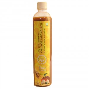 Buy True Elements Apple Cider Vinegar With Lemon, Ginger, Honey And Garlic - Nykaa