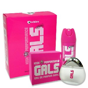 Buy Archies New Girls Gift Set 1pc Parfum 50ml + 1 Pc Deo 150ml / 96gm - Nykaa