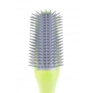 Buy Kent AHGLO1 Everyday Combing & Styling Brush Non Scratch Lon Quills for Long Hair  - Lime Green Color - Nykaa