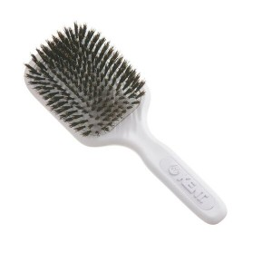 Buy Kent AH13 Pure Bristle Medium Paddle Brush - White - Nykaa