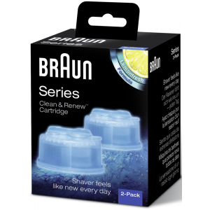 Buy Braun Clean & Renew Refill Cartidges (Pack of 2) - Nykaa