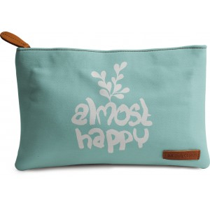 Buy DailyObjects Almost Happy Carry-All Pouch Medium - Nykaa