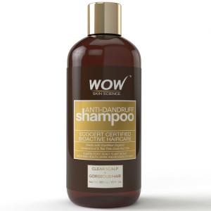 Buy Herbal WOW Organics Anti Dandruff Shampoo - Nykaa