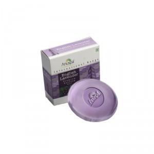 Buy Anuspa English Lavender Soap - Nykaa
