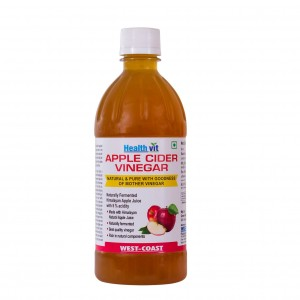 Buy Healthvit Apple Cider Vinegar - Nykaa