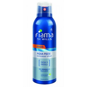 Buy Fiama Di Wills Aqua Pulse Deodorant Spray For Men - Nykaa