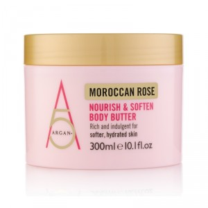 Buy Argan+ Moroccan Rose Nourish & Soften Body Butter - Nykaa