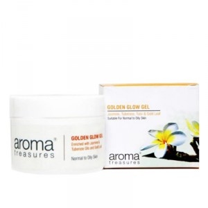 Buy Aroma Treasures Golden Glow Gel - Nykaa
