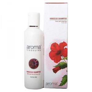 Buy Aroma Treasures Hibiscus Shampoo  - Nykaa