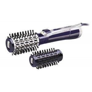 Buy BaByliss AS550E Hair Brush Purple & Silver - Nykaa