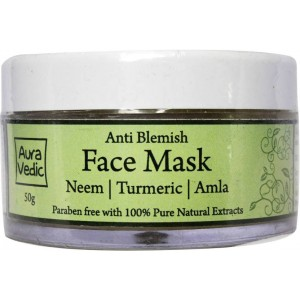 Buy AuraVedic Anti Blemish Face Mask - Nykaa