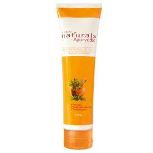 Buy Avon Naturals Ayurvedic Whitening 3 In 1 Cleanser Scrub Mask - Nykaa