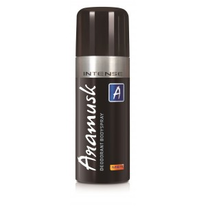Buy Aramusk Intense Deodrant Body Spray for Men - Nykaa