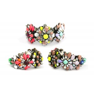 Buy The Blur Store Multistone  Color Handcuff - Nykaa