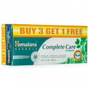 Buy Himalaya Herbals Complete Care Toothpaste Buy 3 Get 1 Free - Nykaa