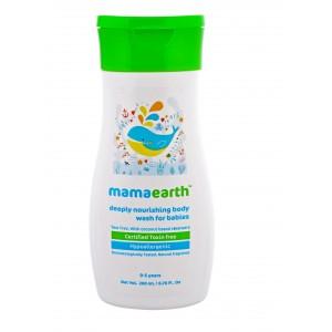 Buy Mamaearth Deeply Nourishing Body Wash for Babies - Nykaa