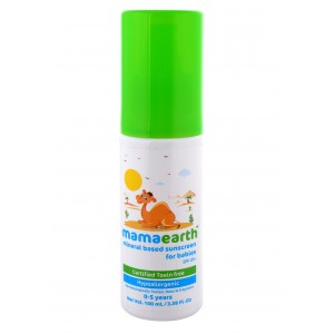 Buy Mamaearth Mineral Based Sunscreen for Babies Certified Toxin Free - Nykaa