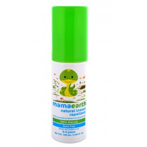 Buy Mamaearth Natural Insect Repellent with Citronella & Lemon Eucalyptus Oil - Nykaa