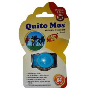 Buy Quito Mos Mosquito Repellent Band - Blue - Nykaa