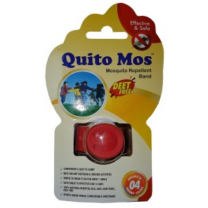 Buy Quito Mos Mosquito Repellent Band - Red - Nykaa