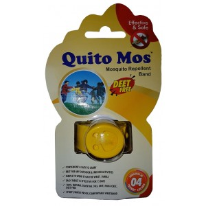 Buy Quito Mos Mosquito Repellent Band - Yellow - Nykaa