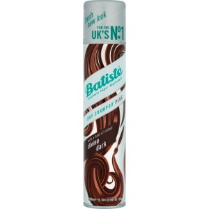 Buy Batiste Dry Shampoo Plus Instant Hair Refresh Divine Dark For Deep Dark Brown Hair - Nykaa