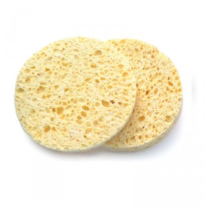 Buy Basicare Natural Cellulose Cleansing Sponges Round - Nykaa