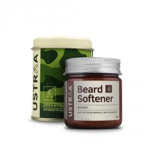 Buy Ustraa Woody Beard Softener - Nykaa