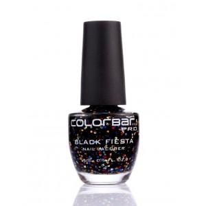 Buy Colorbar Black Fiesta Nail Lacquer - Nykaa