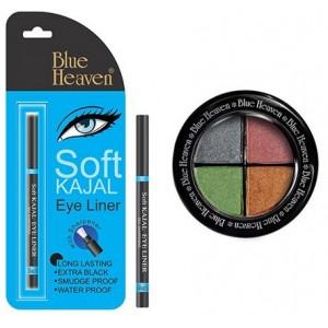 Buy Blue Heaven Eye Magic Eye Shadow 601 & Bh Kajal Liner Combo - Nykaa
