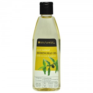 Buy Soulflower Pure Natural Bhringraj Oil - Nykaa