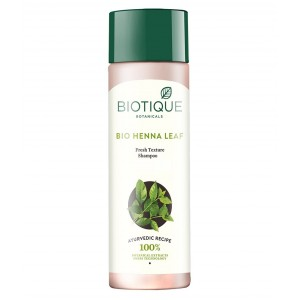 Buy Biotique Bio Henna Leaf Fresh Texture Shampoo - Nykaa