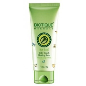 Buy Herbal Biotique Bio Bael Baby Touch Healing Balm Relieves Diaper Rash - Nykaa