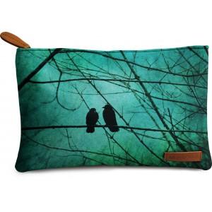 Buy DailyObjects Bird Smitten Carry-All Pouch Medium - Nykaa