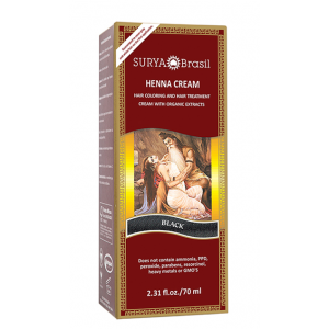 Buy Surya Brasil Henna Cream - Black - Nykaa
