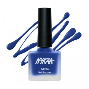 Buy Nykaa Fall Winter Matte Nail Enamel - Blueberry Compote 119 - Nykaa