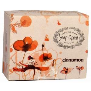 Buy Soap Opera Glycerin Based Cinnamon Spice Soap - Nykaa