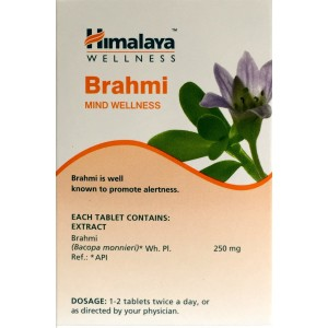 Buy Himalaya Wellness Brahmi Alertness - 60 Capsules - Nykaa
