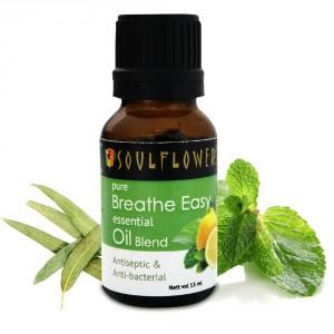 Buy Herbal Soulflower Breathe Easy Essential Oil - Nykaa
