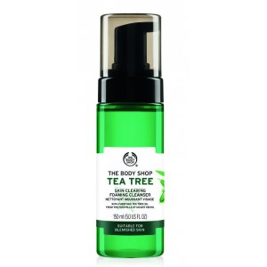 Buy The Body Shop Tea Tree Skin Clearing Foaming Cleanser - Nykaa