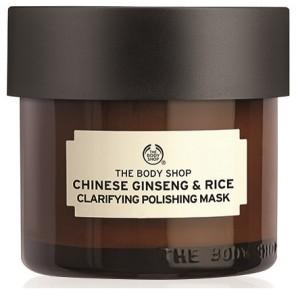 Buy The Body Shop Chinese Ginseng & Rice Clarifying Polishing Mask - Nykaa