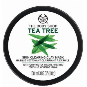 Buy The Body Shop Tea Tree Skin Clearing Clay Mask - Nykaa